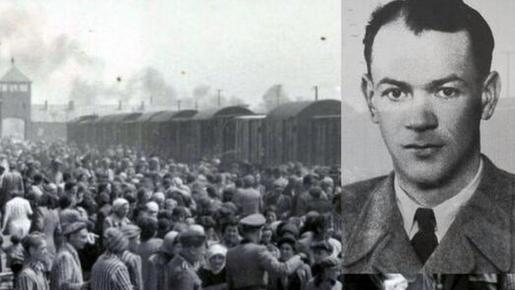 Johann Breyer,exguardia nazi de  Auschwitz