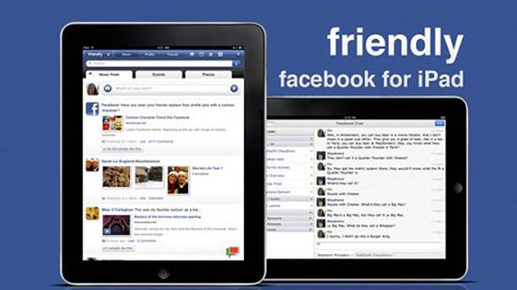 Facebook en el iPad