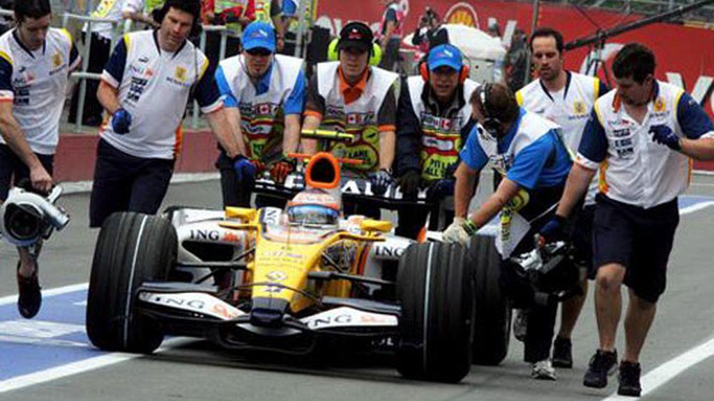 Nelson Piquet Jr. del equipo Renault