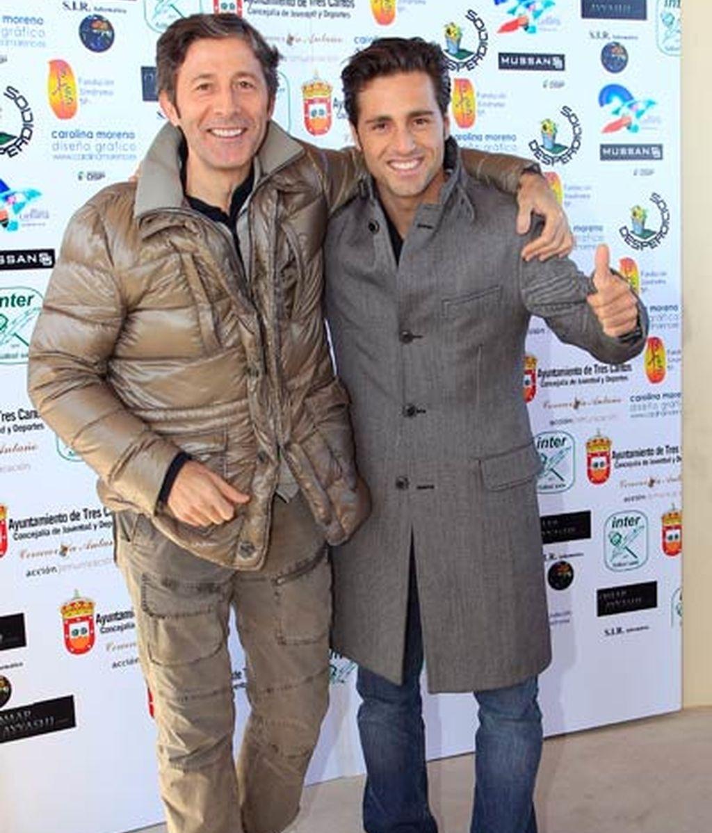 Bustamante, Dani Martín y Gonzalo Miró defienden los mismos colores