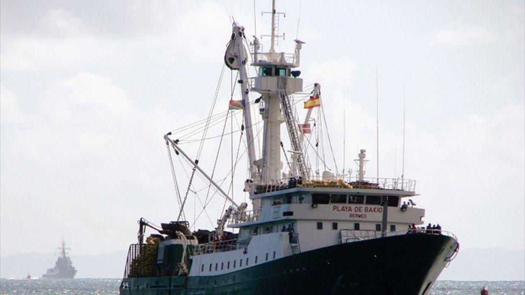 Un pesquero español