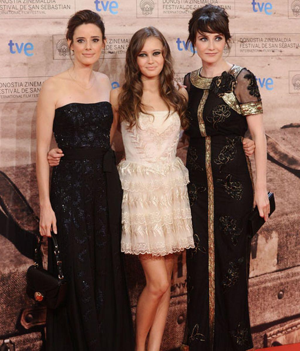Paula Echevarría, Marta Etura y Clive Owen llenan de glamour San Sebastián