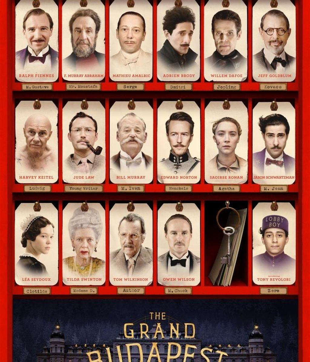 'El gran Hotel Budapest', gran favorita en los Premios BAFTA