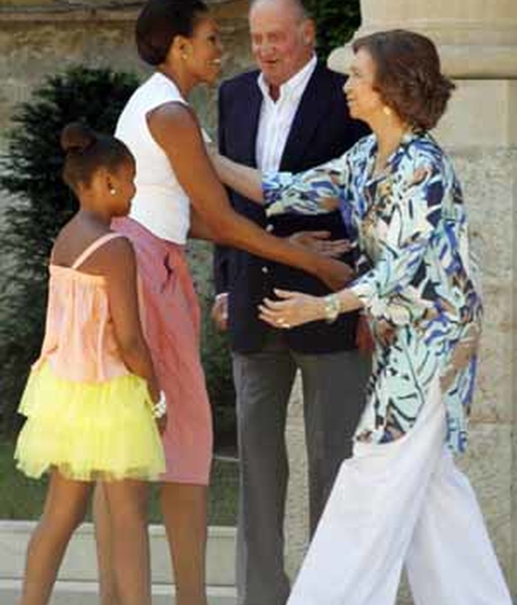 Michelle Obama en Palma
