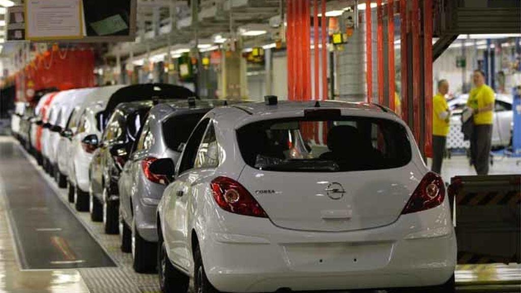 Una fábrica de Opel