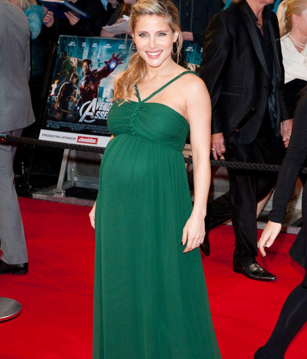 Elsa Pataky, embarazadísima
