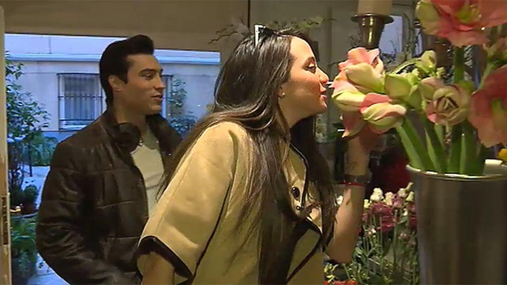 Entre besos y flores
