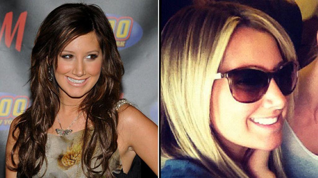 Ashley Tisdale, morena sexy o rubia dulce