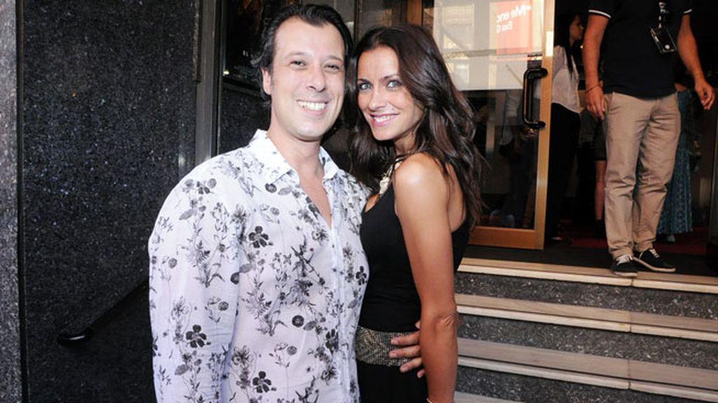 Carlos Calero y Beatriz Jarrín