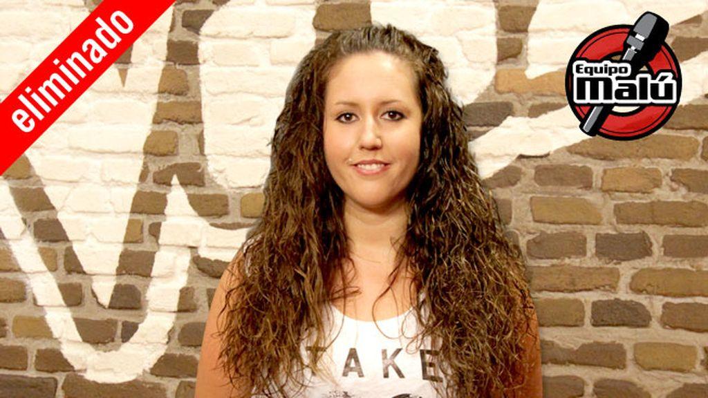 Érika Gómez, 27 años, equipo Malú | Eliminada