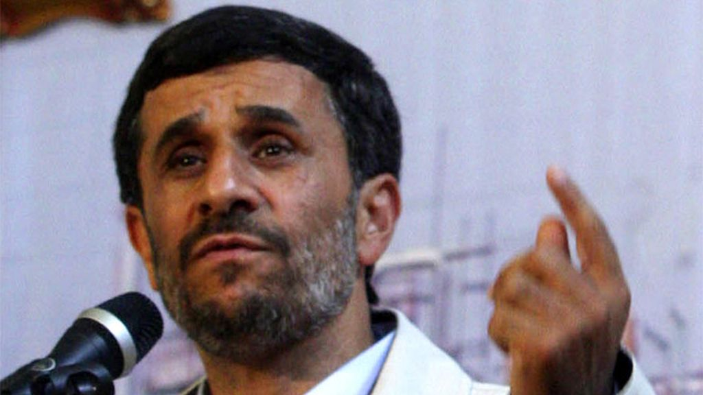 Mahmud Ahmadineyad, Irán