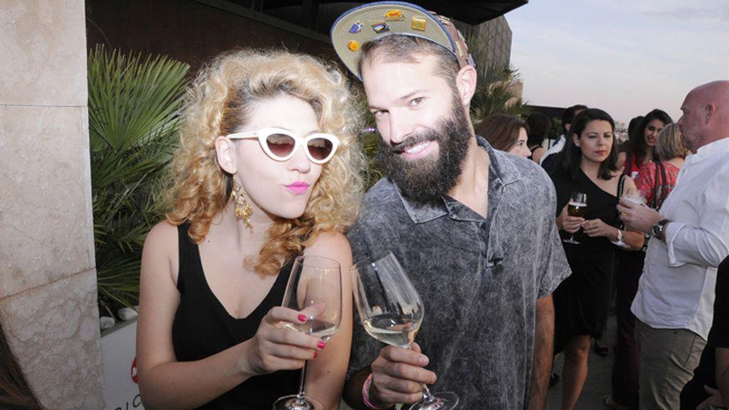 Sofía Stein y David García Miras