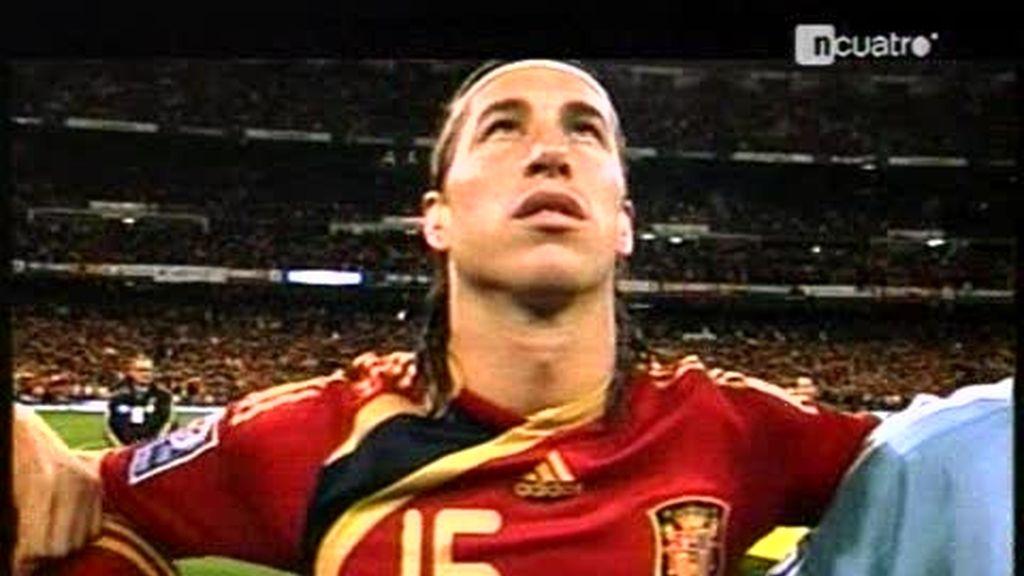 La selección española a un paso del record