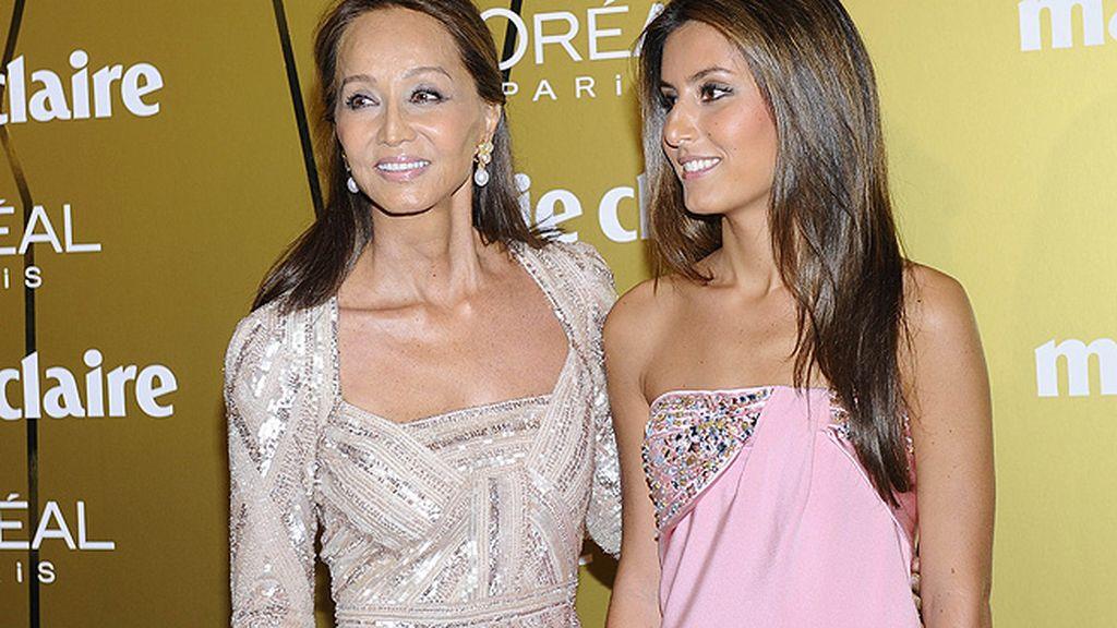 Isabel Preysler y su hija Ana Boyer