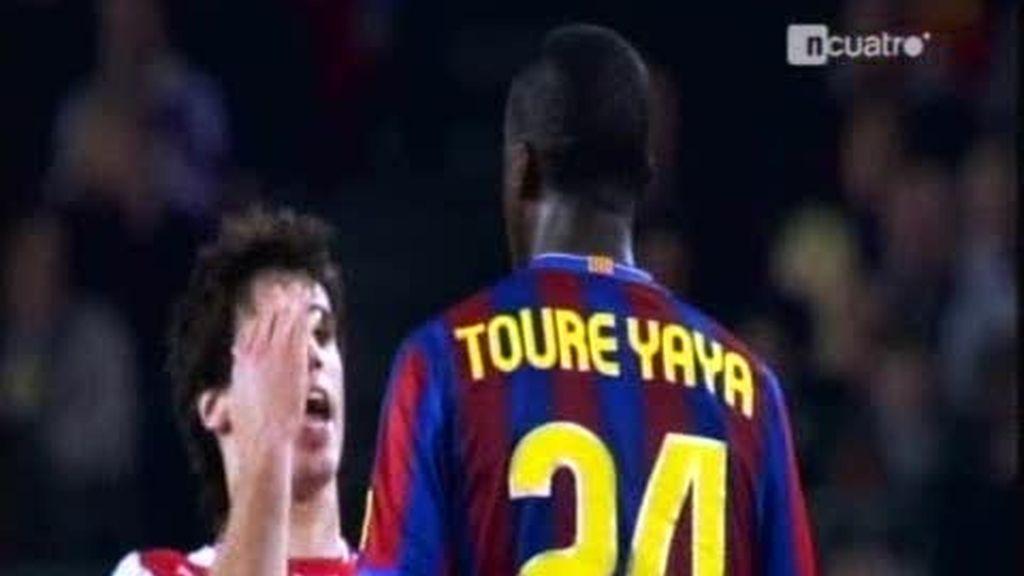El cabezazo de Touré Yayá