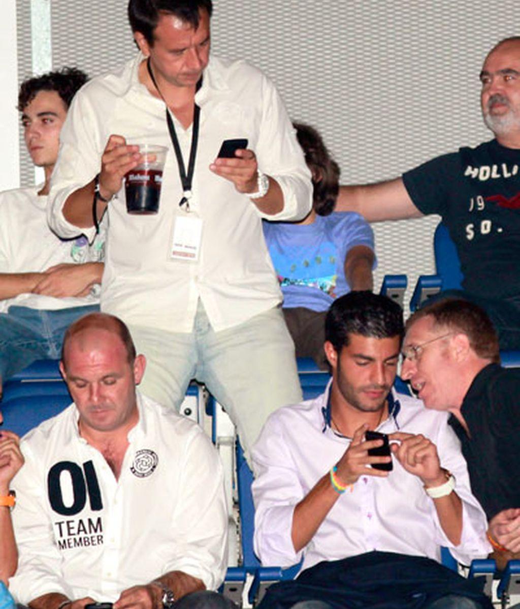 Alejandro Sanz llena de famosos el Palacio de los Deportes de Madrid