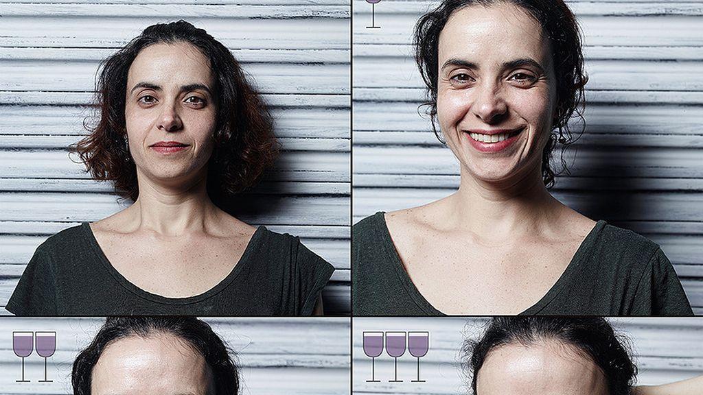 Cómo cambiamos después de tomar unas copas de vino