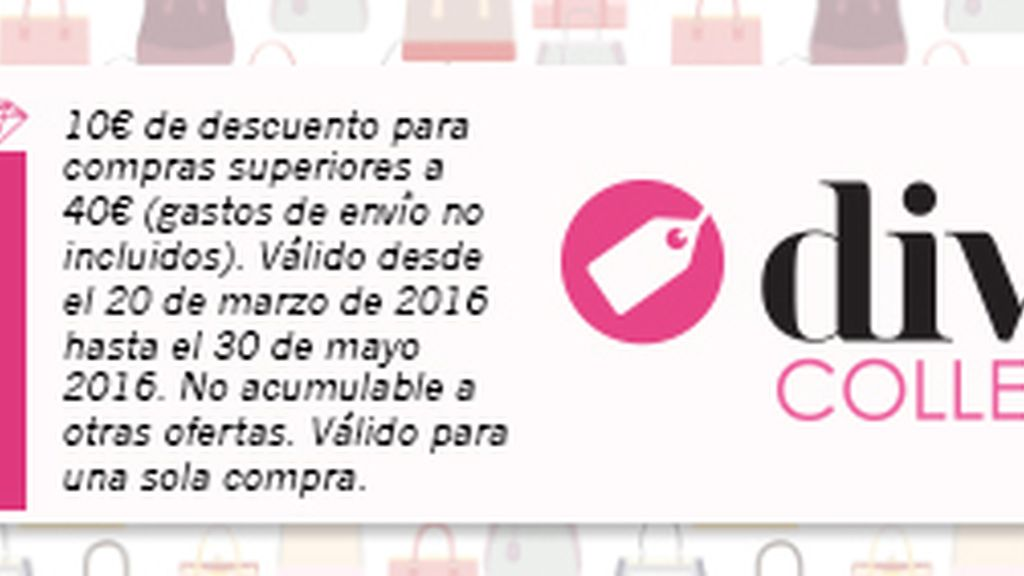 codigo promocional descuento divinity collection abril 2016