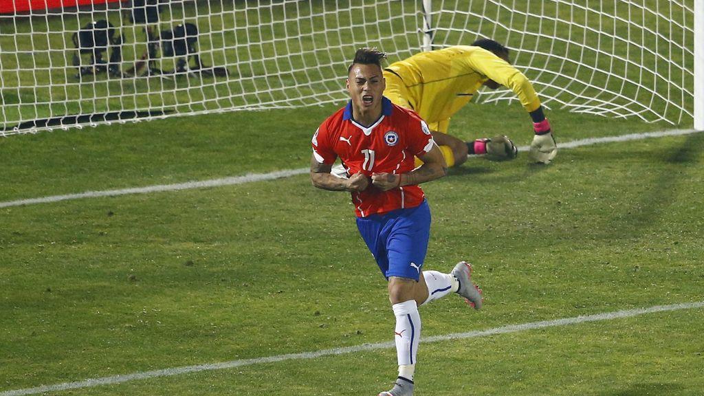 Vargas mete a Chiñe en la final de la Copa América