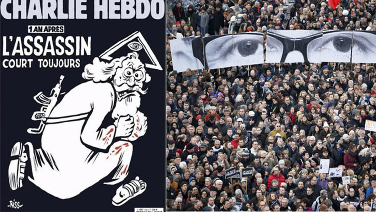 Charlie Hebdo, revista satírica francesa,