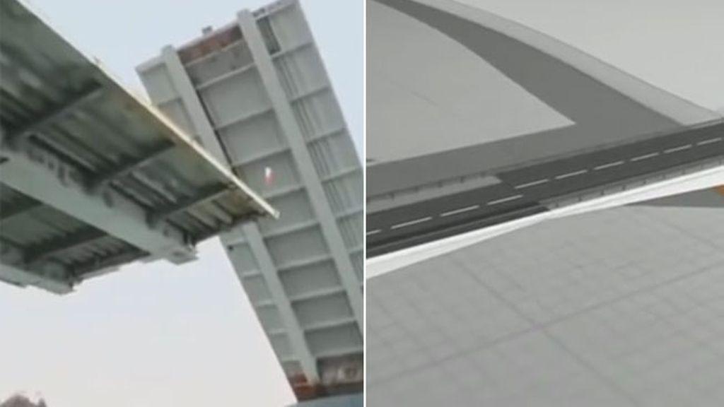 Una empresa española construye al revés un puente en Chile que ahora será derribado