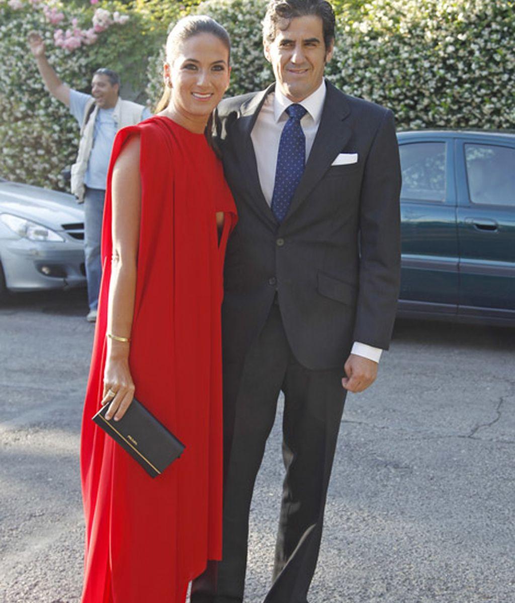 Los invitados de la boda de Marina Castaño y Enrique Puras