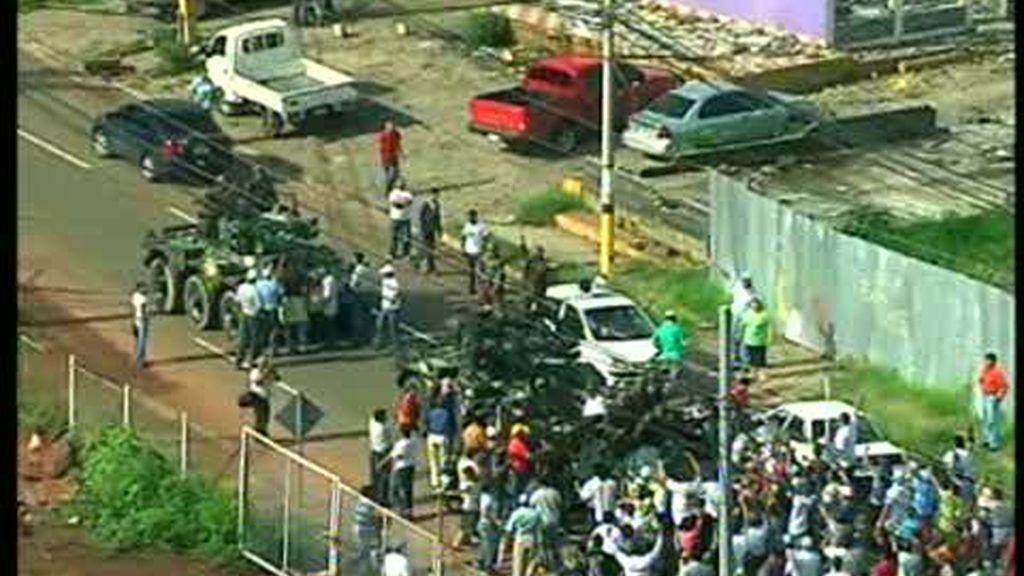 El Ejército detiene a Zelaya