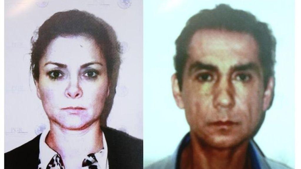 María de los Ángeles Pineda y José Luis Abarca, detenidos
