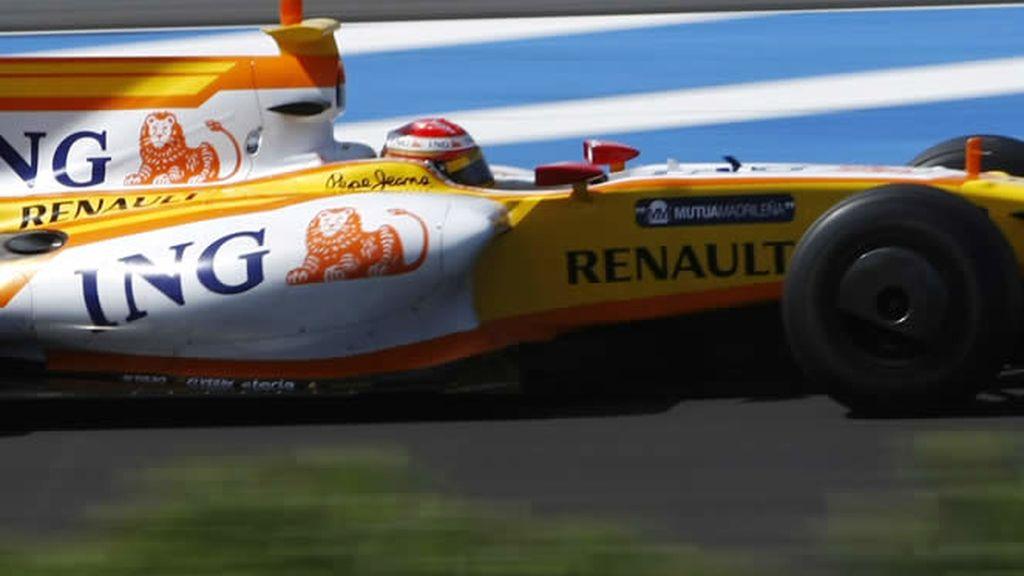 Alonso, duodécimo en entrenamientos libres