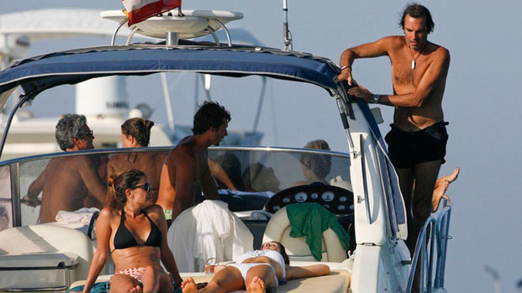 María José Suárez se tuesta en Ibiza