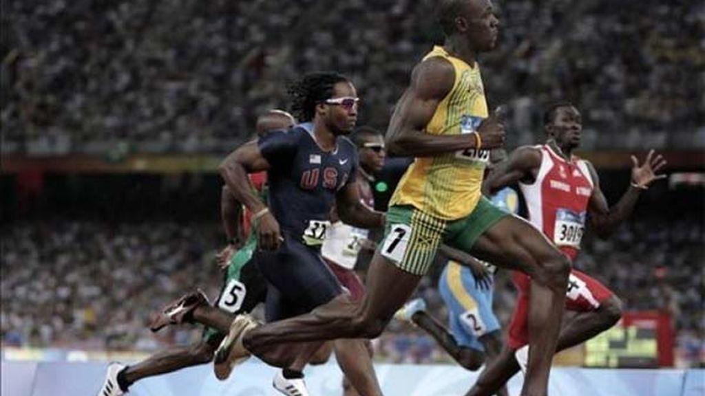 Bolt, campeón de los 100 metros lisos