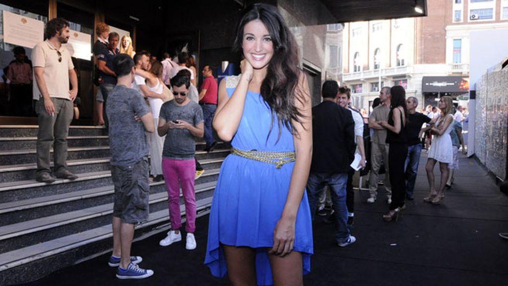 La modelo Noelia López acertó con este veraniego vestido
