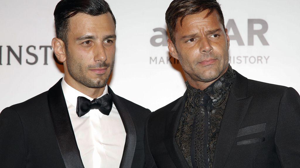 Ricky Martin presenta en sociedad a su novio