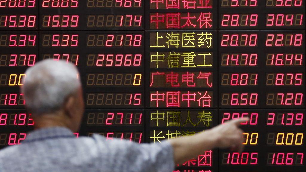 La Bolsa de Shanghái sube tras dos semanas hundida