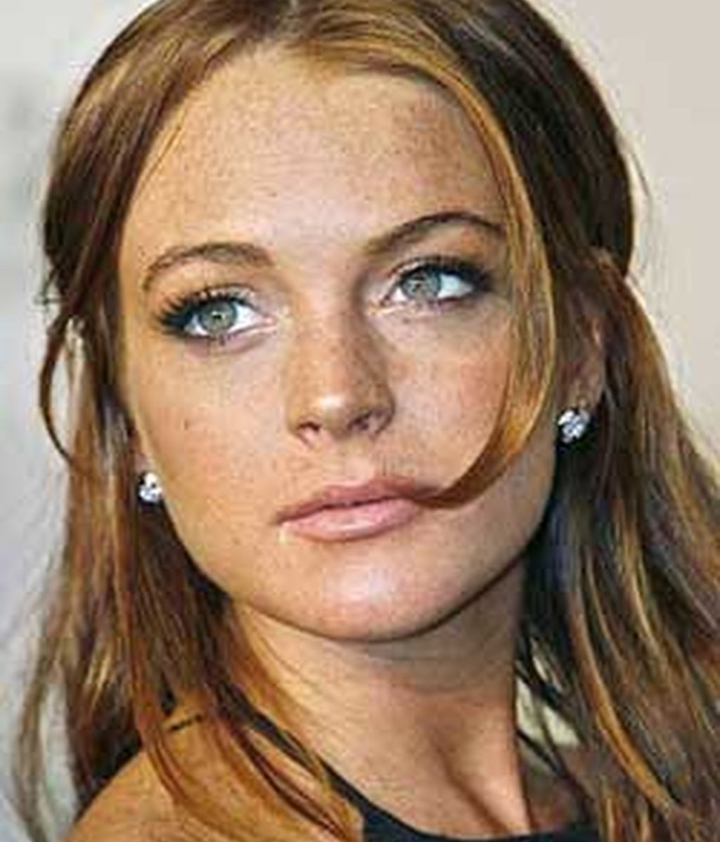 Lindsay Lohan acudió a la India para rodar un documental de la BBC sobre niños.Foto: Reuters.