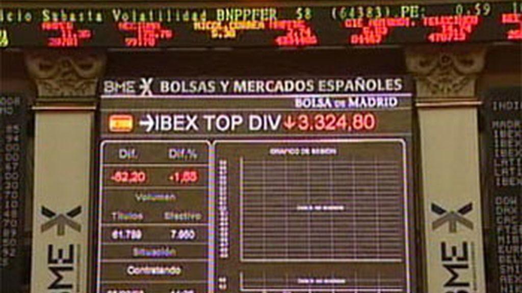 El Ibex 35 abre la sesión con una subida del 0,45% y se coloca por encima de los 1.500 puntos