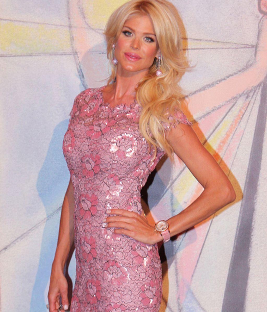 La modelo y cantante Victoria Silvsted