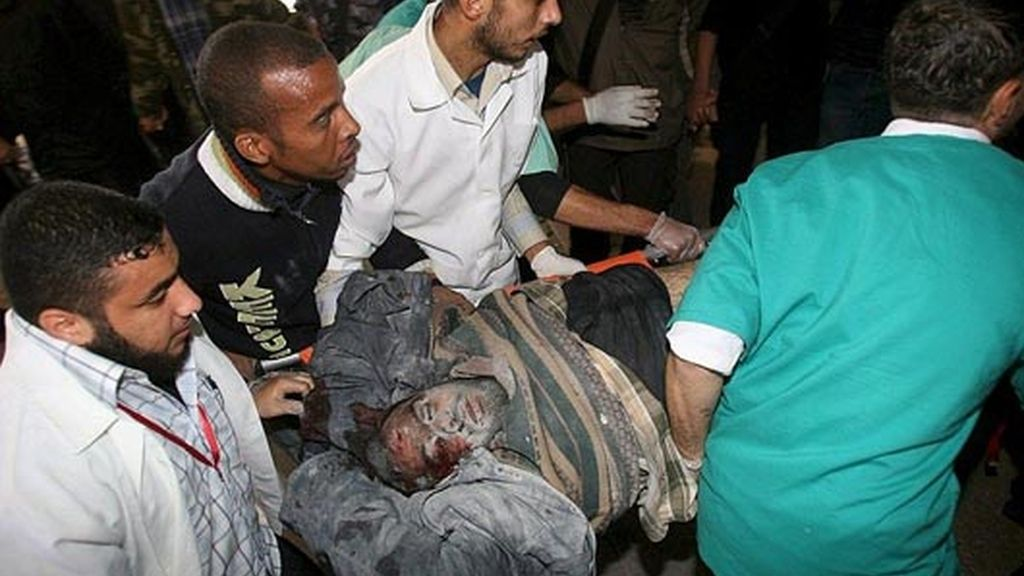 SEGUNDO DÍA DE BOMBARDEOS EN GAZA