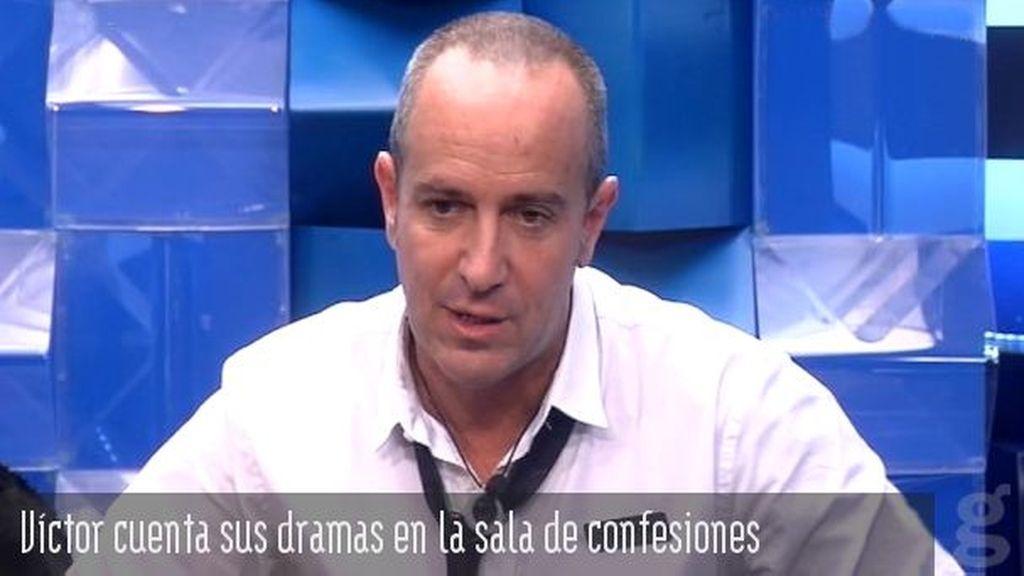 Víctor y sus dramas en la sala de confesiones