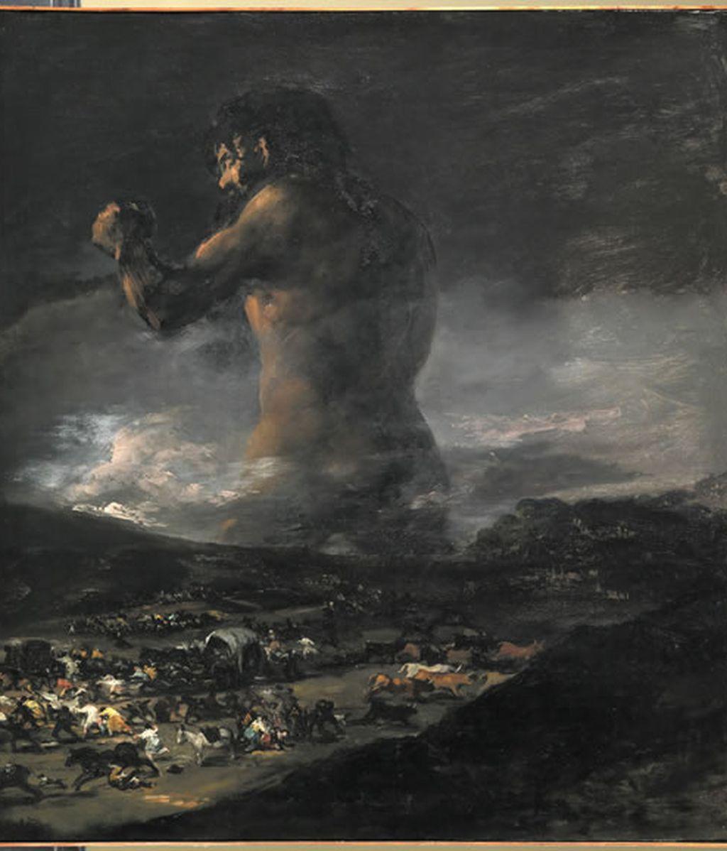 El Coloso no fue pintado por Goya. Vídeo: Atlas