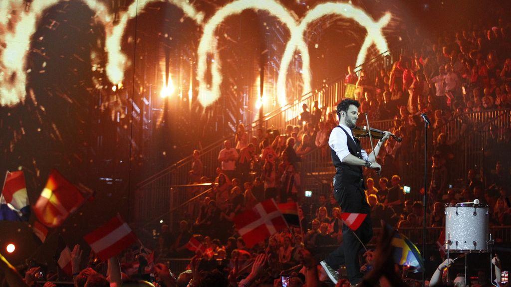 Sebalter representando a Suiza