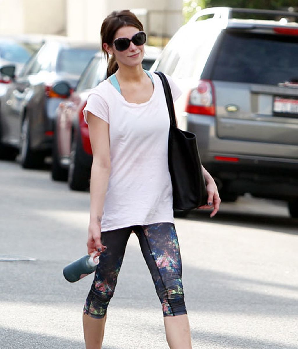 Ashley Greene, deportiva pero discreta