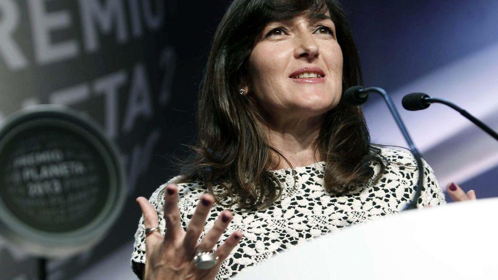 Ángeles González Sinde, finalista del Premio Planeta