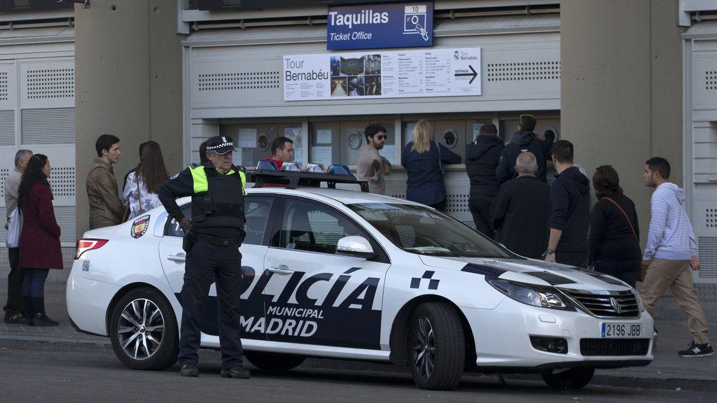 La Policía Nacional multiplica por seis su despliegue de seguridad en el Clásico