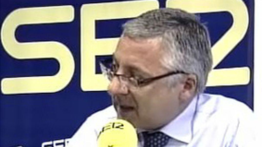 José Blanco, ministro de Fomento, en la Ser