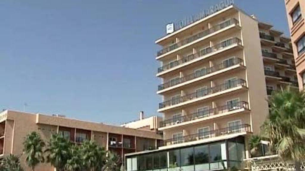 La ocupación hotelera cae un 5,5 por ciento en julio