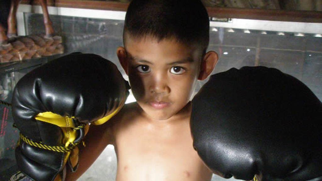 Los niños comienzan a boxear a edades muy tempranas