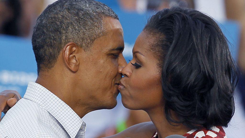 Político: Barack y Michelle Obama