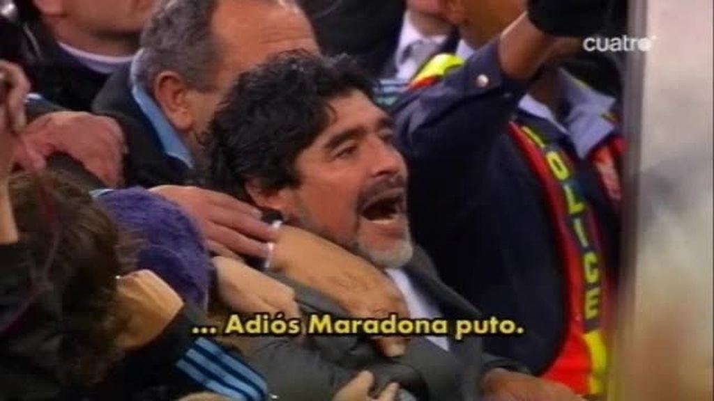 Bye, bye Maradona
