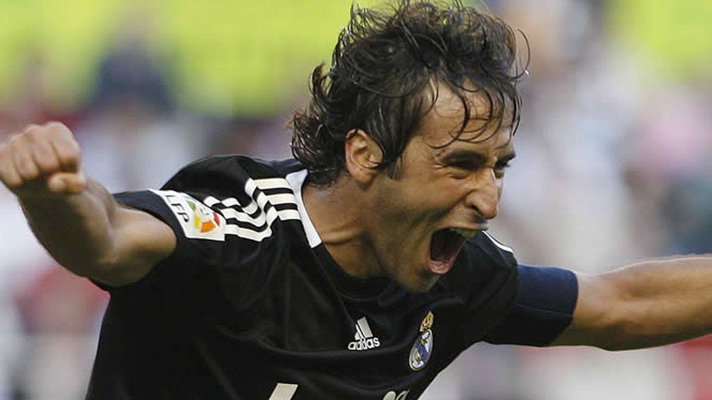 El capitán madridista celebra el gol marcado ante el Sevilla